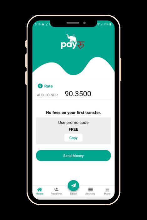 payRu Mobile App